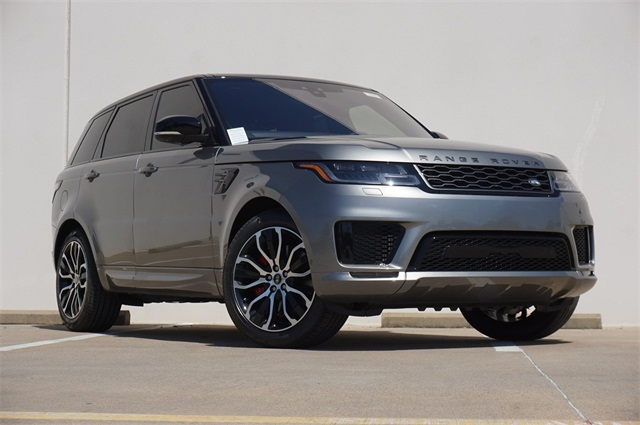 New 2019 Land Rover Range Rover Sport Supercharged