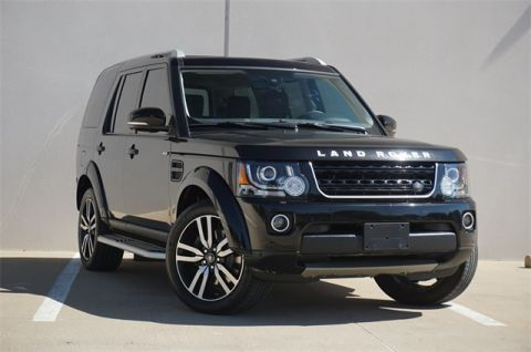 Certified Pre-Owned 2016 Land Rover LR4 Landmark Edition