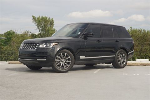 Certified Pre-Owned 2016 Land Rover Range Rover 3.0L V6 Turbocharged Diesel Td6