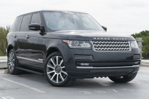 Certified Pre-Owned 2015 Land Rover Range Rover 5.0L V8 Supercharged Autobiography