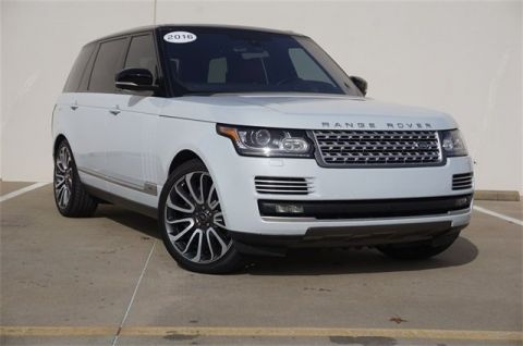 Certified Pre-Owned 2016 Land Rover Range Rover 5.0L V8 Supercharged Autobiography