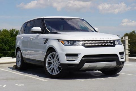 Certified Pre-Owned 2016 Land Rover Range Rover Sport 3.0L V6 Supercharged HSE